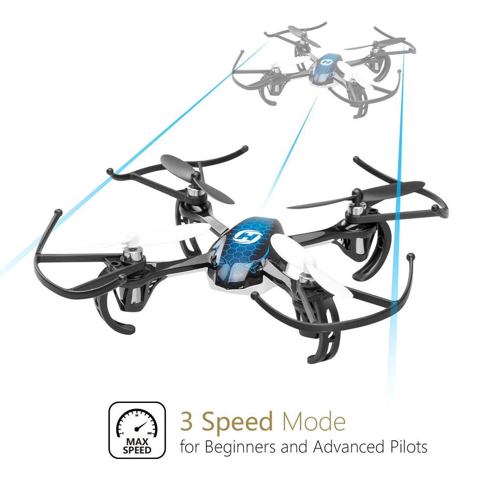 Holy Stone HS170 Predator Mini RC Helicopter Drone 2 4Ghz 6-Axis Gyro 4  Channels Quadcopter Good Choice for Drone Training