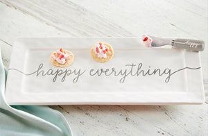 """Happy Everything"" Serving Platter"