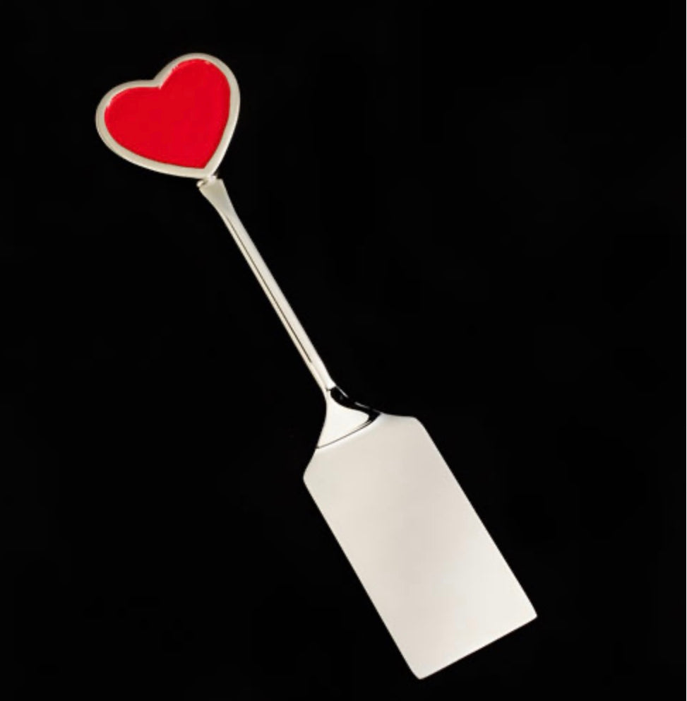 Red Heart Spatula