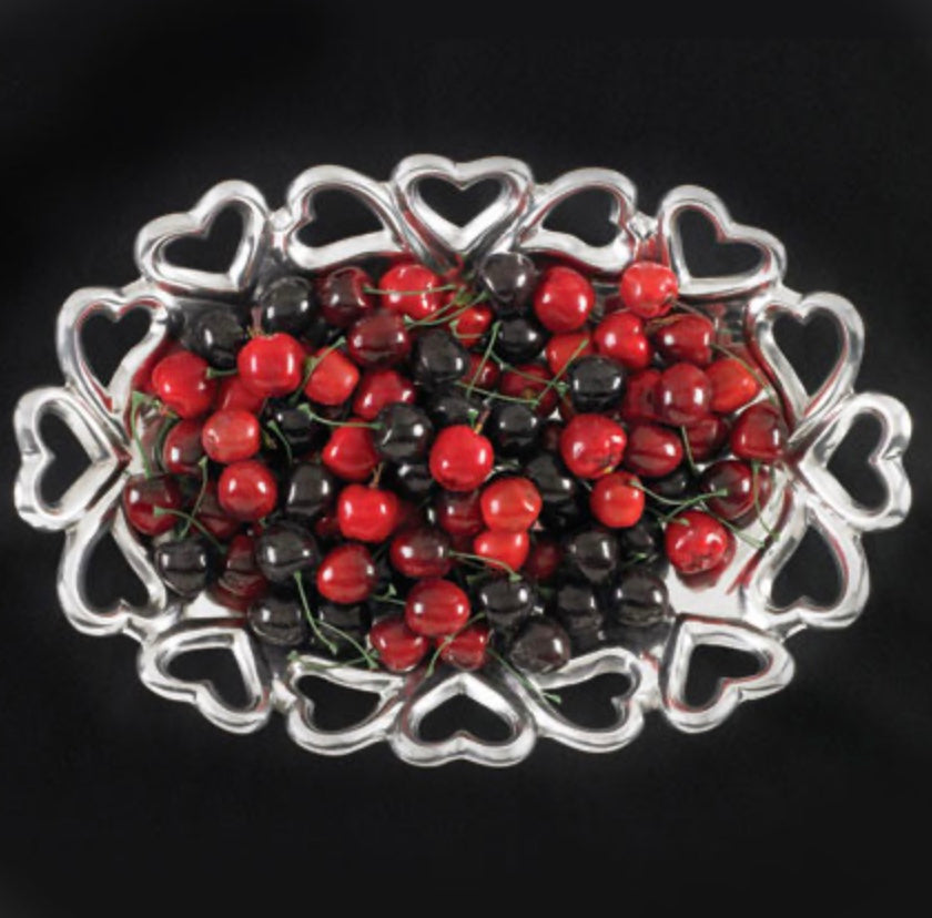 Heart-to-Heart Oval Dish