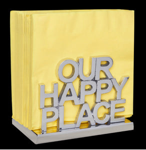 Happy Nappy Napkin Holder - Our Happy Place
