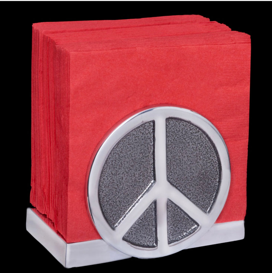 Happy Nappy Napkin Holder - Peace