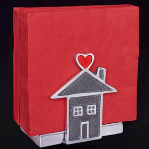 Happy Nappy Napkin Holder - Home Is Where The Heart Is