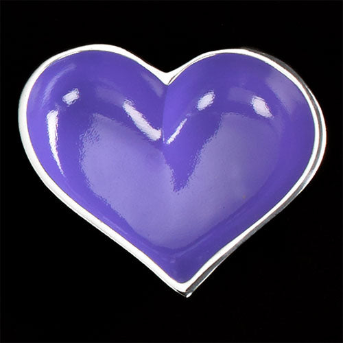 Lil Purple Heart with Heart Spoon