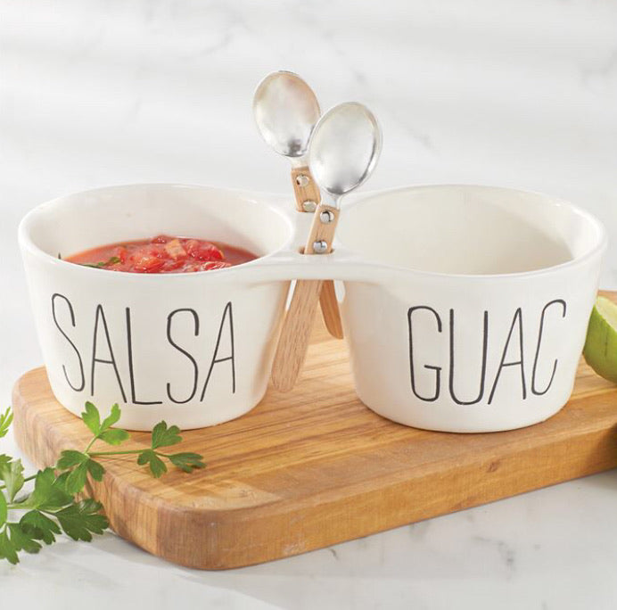Salsa and Guacamole Set