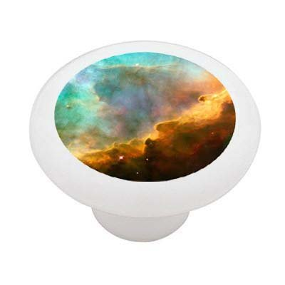 The Omega Nebula Ceramic Drawer Knob