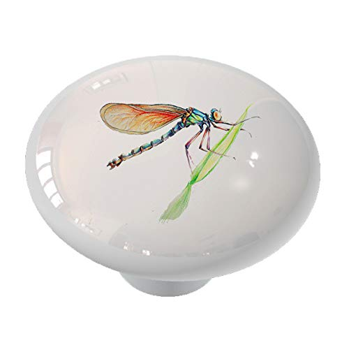 Resting Dragonfly Drawer Knob