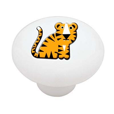 Little Tiger Ceramic Drawer Knob