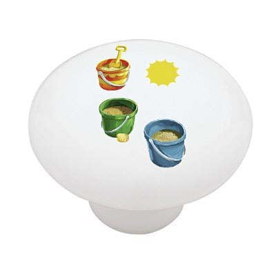Summer Days Ceramic Drawer Knob