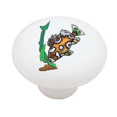Harlequin Sweet Lips Ceramic Drawer Knob