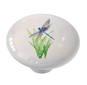 Summer Dragonfly Drawer Knob