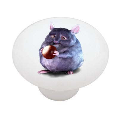 Fat Hampster Ceramic Drawer Knob