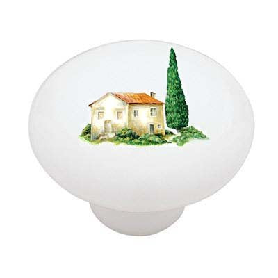 Home in Tuscany Ceramic Drawer Knob