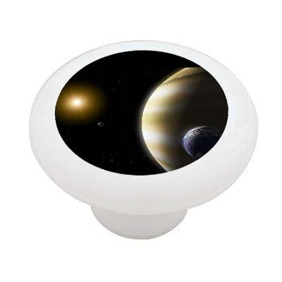 Extrasolar Planets Ceramic Drawer Knob