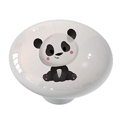 Cutie Pie Panda Drawer Knob