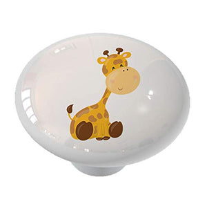 Nursery Safari Giraffe Drawer Knob
