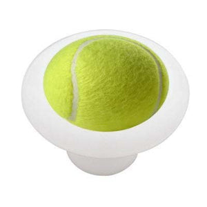 Tennis Ball Ceramic Drawer Knob