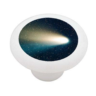 Space Comet Ceramic Drawer Knob