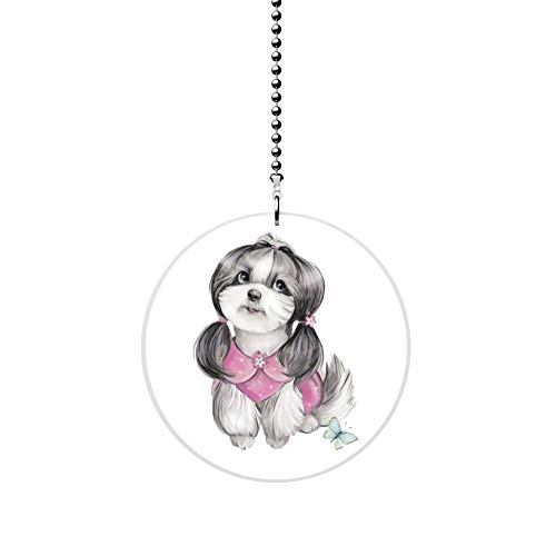 Shih Tzu Puppy Fan Pull
