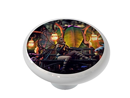 Fairy Pavillion Ceramic Drawer Knob