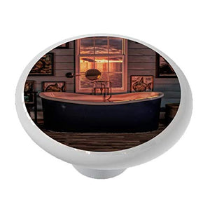 Nautical Bathroom Ceramic Drawer Knob