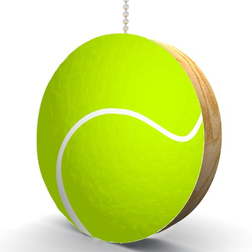 Tennis Ball Hardwood Oak Fan/Light Pull
