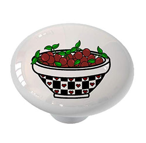 Cherry Bowl Drawer Knob