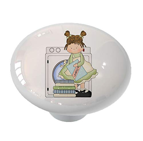 Laundry Room Ceramic Drawer Knob