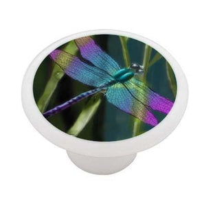 Dragonfly Ceramic Drawer Knob