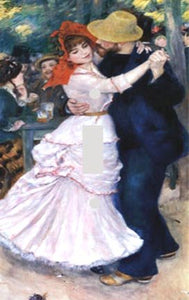 Renoir Dance in Bougival Switch Plate Cover