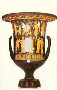 Greek Krater Vase Switch Plate Cover