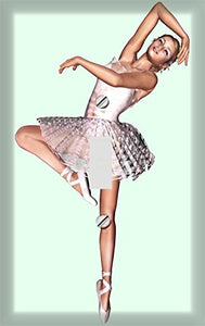 Ballerina Dancer Switch Plate Cover