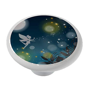 Fairy Sparkle Ceramic Drawer Knob
