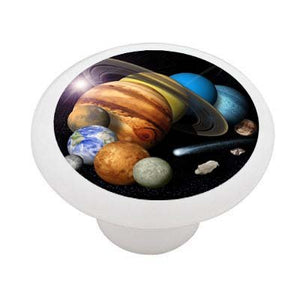 The Solar System Ceramic Drawer Knob