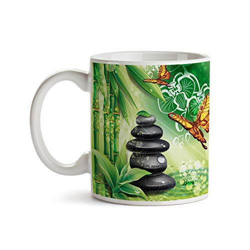 Asian Butterflies 11oz Coffee Mug - Tea Mug