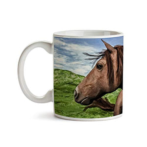 Horse Profile 11oz Coffee Mug - Tea Mug