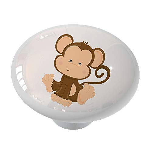 Nursery Safari Monkey Drawer Knob