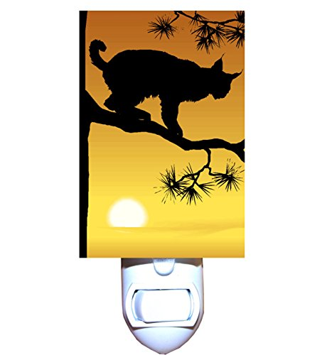 Sunrise Lynx Night Light