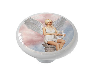 Angel's Song Ceramic Drawer Knob