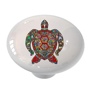 Talavera Sea Turtle Drawer Knob