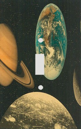 The Planets Switch Plate Cover