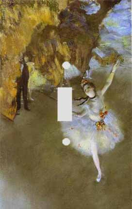 Edgar Degas The Star Switch Plate Cover