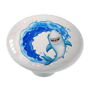 Shark Splash Drawer Knob