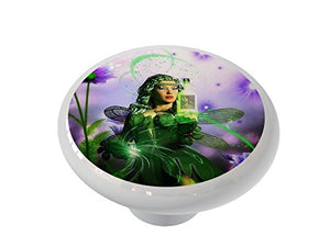 The Absinthe Fairy Ceramic Drawer Knob