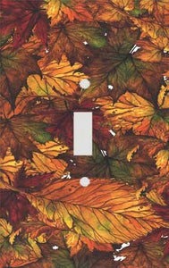Leaves of Autumn Switch Plate Cover