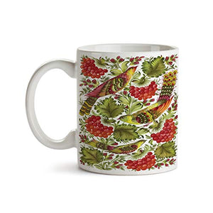 Birds and Grapes Design 11oz Coffee Mug - Tea Mug