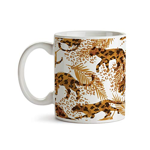 Abstract Leopards 11oz Coffee Mug - Tea Mug