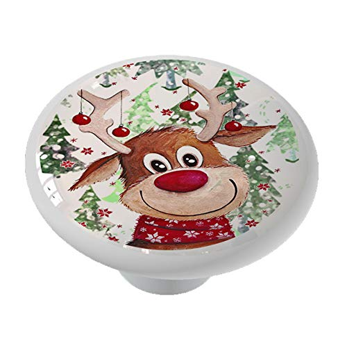 Rudolph's Christmas Drawer Knob