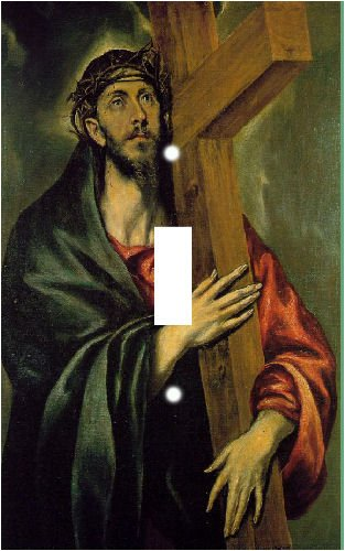 El Greco Christ Switch Plate Cover
