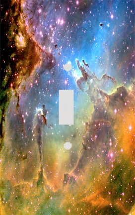 The Eagle Nebula Switch Plate Cover